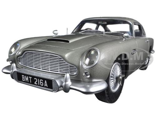 "Aston Martin DB5 Silver James Bond 007 From ""Goldfinger"" Movie 1/18 Diecast Model Car Hotwheels CMC95"