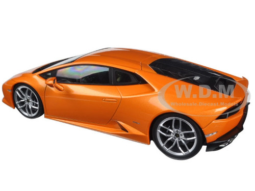 lamborghini huracan lp610 4 orange 1 18 diecast model car kyosho c09511 p. Black Bedroom Furniture Sets. Home Design Ideas