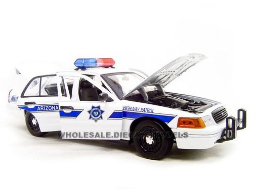 Ford Crown Victoria Arizona Highway Patrol Car 118 Diecast Model