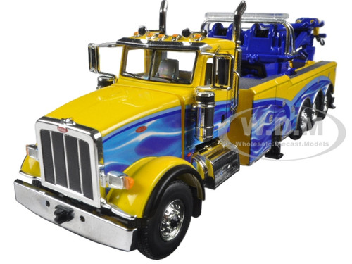 Worksheet. 367 with Century Rotator Wrecker Tow Truck Yellow and Blue 150