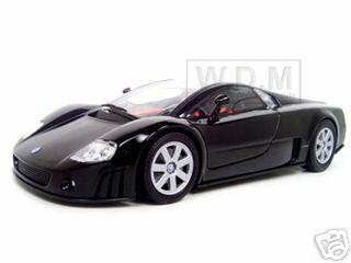 Volkswagen Nardo W12 Show Car Black 1/18 Diecast Model Car Motormax 73141