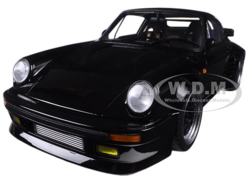 "Porsche 911 (930) Turbo Wangan Midnight ""Black Bird"" 1/18 Diecast Model Car Autoart 78156"