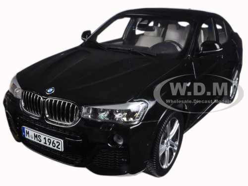 BMW X4 (F26) Sapphire Black 1/18 Diecast Model Car Paragon 97094