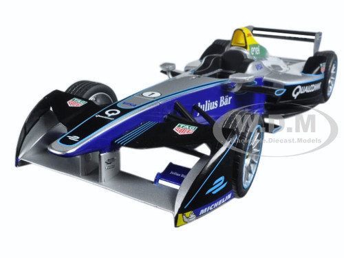2016-17 FIA Formula E Spark-Renault SRT 01E Show Car 1/18 Diecast Model Car Greenlight 18104