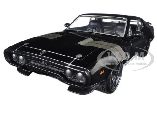 """Dom's Plymouth GTX Fast & Furious F8 """"The Fate of the Furious"""" Movie 1/24 Diecast Model Car Jada 98292"""