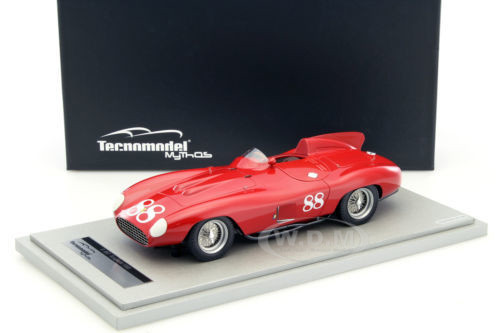 Ferrari 857 Scaglietti Nassau Trophy 1956 #88 Driver Richie Ginther Limited Edition to 80pcs 1/18 Model Car Technomodel TM18-26C