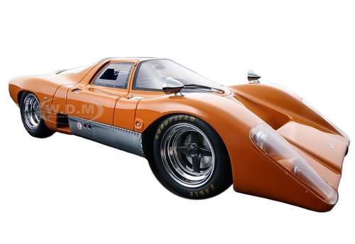 1969 McLaren M6 GT Papaya Orange Limited Edition to 100pcs 1/18 Model Car Technomodel TM18-40A
