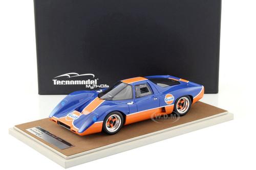 1969 McLaren M6 GT Gulf Edition Limited Edition to 100pcs 1/18 Model Car Technomodel TM18-40C