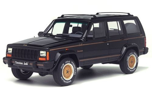 1992 Jeep Cherokee Limited Black Limited Edition to 1500pcs 1/18 Model Car Otto Models OT219