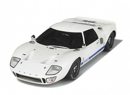 1968 Ford GT40 MKI White Limited Edition to 1500pcs 1/18 Model Car GT Spirit GT131