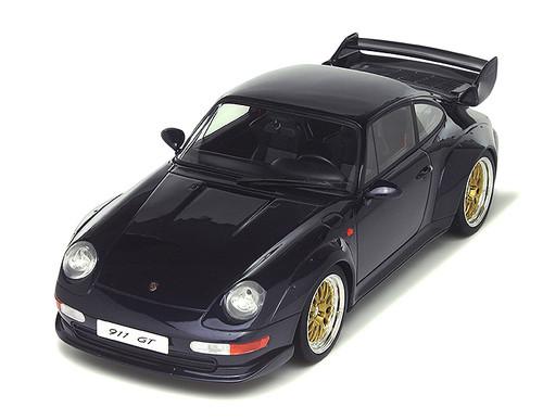 1995 Porsche 911 (993) GT Dark Blue Limited Edition to 1500pcs 1/18 Model Car GT Spirit GT144