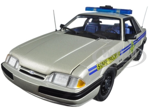 1991 Ford Mustang South Carolina Highway Patrol SSP Limited Edition to 450pcs 1/18 Diecast Model Car GMP 18844