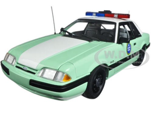 1988 Ford Mustang United States Border Patrol SSP Limited Edition to 558pcs 1/18 Diecast Model Car GMP 18845