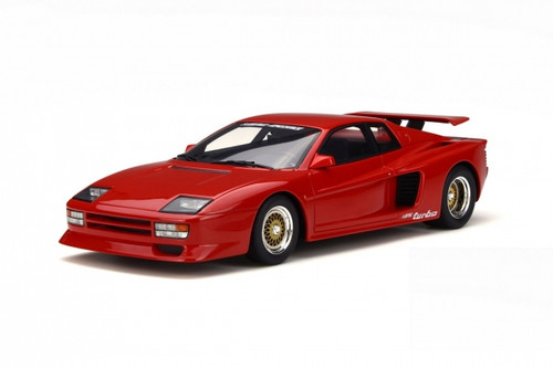 Ferrari Testarossa TwinTurbo Koenig Specials Red Limited Edition to 1750pcs 1/18 Model Car GT Spirit GT124
