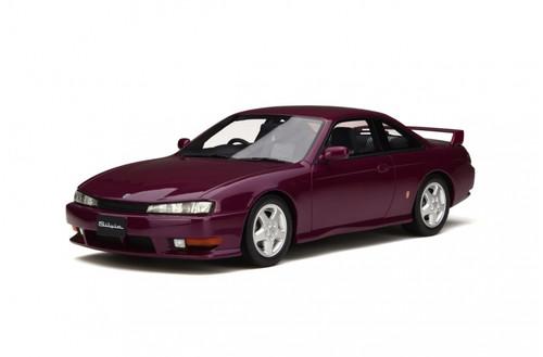 Nissan Silvia S14A Damson Fushia Limited Edition to 1750pcs 1/18 Model Car Otto Models OT210