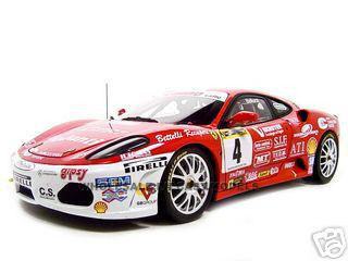 Ferrari F430 Challenge Elite Edition #4 1/18 Diecast Model Car Hotwheels l9533