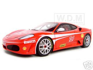 Ferrari F430 #14 Challenge Elite Edition 1/18 Diecast Model Car Hotwheels J2923r