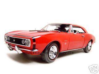 1967 Chevrolet Camaro SS 350 1/18 Diecast Model Car ERTL Authentics 29648