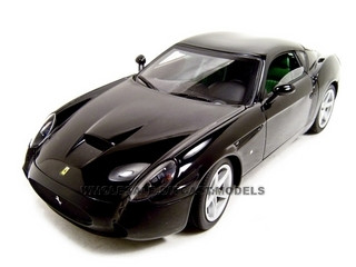 Ferrari 575 GTZ Zagato Elite Black 1/18 Diecast Model Car Hotwheels l2983