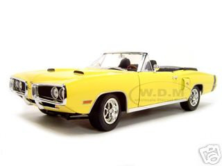 1970 Dodge Coronet R/T Hemi Yellow 1 Of 1250 Made 1/18 Diecast Car Road Signature 25480