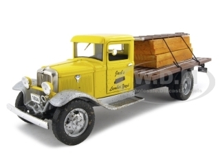 1934 Ford BB 157 Flat Bed Truck 1/24 Diecast Car Model Unique Replicas 18618
