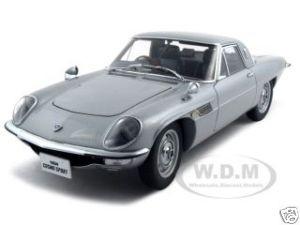 Mazda Cosmo Sport Silver 1/18 Diecast Model Car Autoart 75933