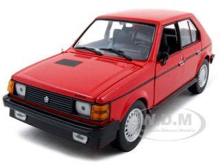 1985 Dodge Omni GLH Red 1/24 Diecast Model Car Motormax 73342