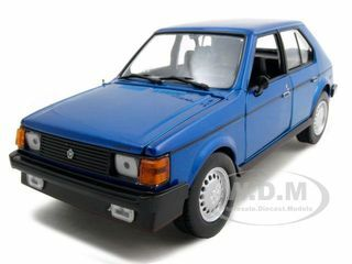 1985 Dodge Omni GLH Blue 1/24 Diecast Model Car Motormax 73334