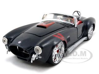 1965 Shelby Cobra 427 S/C Black 1/24 Diecast Car Model Maisto 31325
