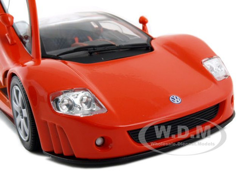 VOLKSWAGEN NARDO W12 SHOW CAR ORANGE 1:18 DIECAST MODEL ...