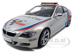 BMW M6 Moto GP 2007 Safety Car 1/18 Diecast Model Car Kyosho 08707