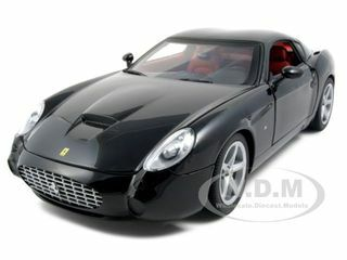 Ferrari 575 GTZ Zagato Black 1/18 Diecast Model Car Hotwheels P9888