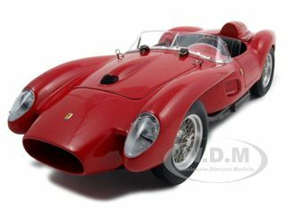 1958 Ferrari 250 Testa Rossa Pontoon Fender Red 1/18 Diecast Model Car CMC 071
