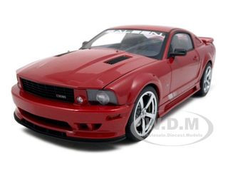 2007 Saleen Mustang S281 Extreme Red 1/18 Diecast Model Car Autoart 73059