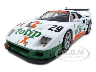 Ferrari F40 Competizione Lemans 1994 #29 Totip 1/18 Diecast Model Car Elite Edition Hotwheels P9921