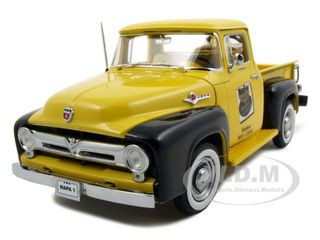 1956 Ford F-100 Pick Up Truck Napa Parts Diecast Truck Model 1/25 First Gear 49-0017