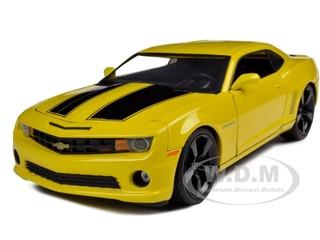 2010 Chevrolet Camaro SS Yellow 1/18 Diecast Model Car Jada 96325