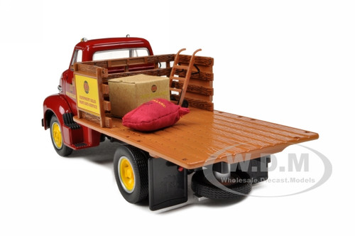 Stake Body Truck Parts : Ford coe stake truck with load new holland parts