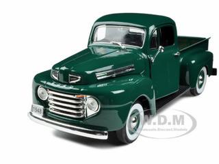 1948 Ford F-1 Pickup Truck Green 1/32 Diecast Model Car Signature Models 32387