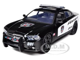 2011 Dodge Charger Pursuit Police 1/24 Diecast Car Model Motormax 76930
