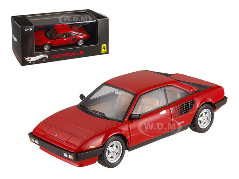 ferrari mondial 8 red elite edition limited edition 1 of 5000 produced worldwide 1 43 diecast. Black Bedroom Furniture Sets. Home Design Ideas