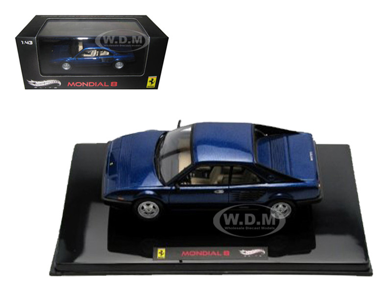 ferrari mondial 8 blue elite edition limited edition 1 of 5000 produced worldwide 1 43 diecast. Black Bedroom Furniture Sets. Home Design Ideas