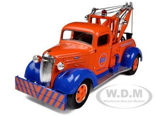 1937 Chevrolet Tow Truck Gulf Oil 1/34 Diecast Model First Gear 19-3940