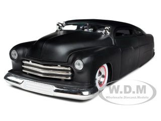 1951 Mercury Matt Black 1/24 Diecast Car Model Jada 96474