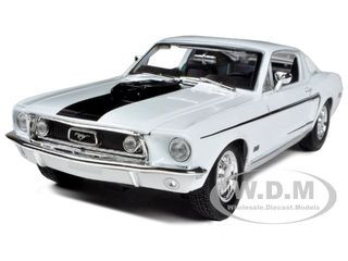 descriptions brand new 118 scale diecast model car of 1968 ford mustang cj cobra jet