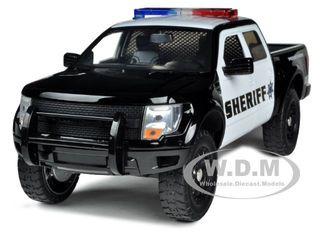 2011 Ford F-150 SVT Raptor Sheriff 1/24 Diecast Car Model Jada 96496