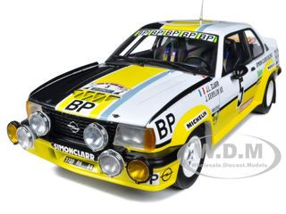 "Opel Ascona 400 #5 ""BP"" Tour de France Automobile 1981 Limited Edition 1 of 869 Produced Worldwide 1/18 Diecast Model Car Sunstar 5359"