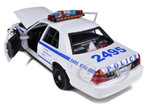 ford crown victoria nypd new york police department 1 24 daron 76469 ebay. Black Bedroom Furniture Sets. Home Design Ideas
