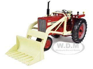 International Harvester Farmall 544 Gas Narrow Front Tractor with Loader 1/16 Diecast Model Car Speccast ZJD1701