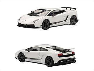 lamborghini gallardo lp570 4 superleggera white bianco monocerus 143 diecast car model autoart 54643
